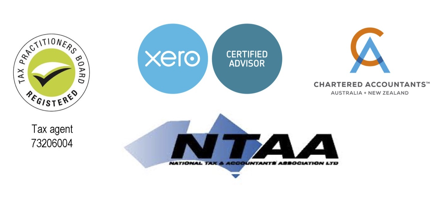 registered tax agent, ntaa, xero certified, chartered accountant logo group